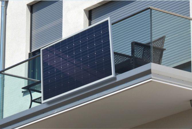 Balkon-Photovoltaik für Mietwohnungen